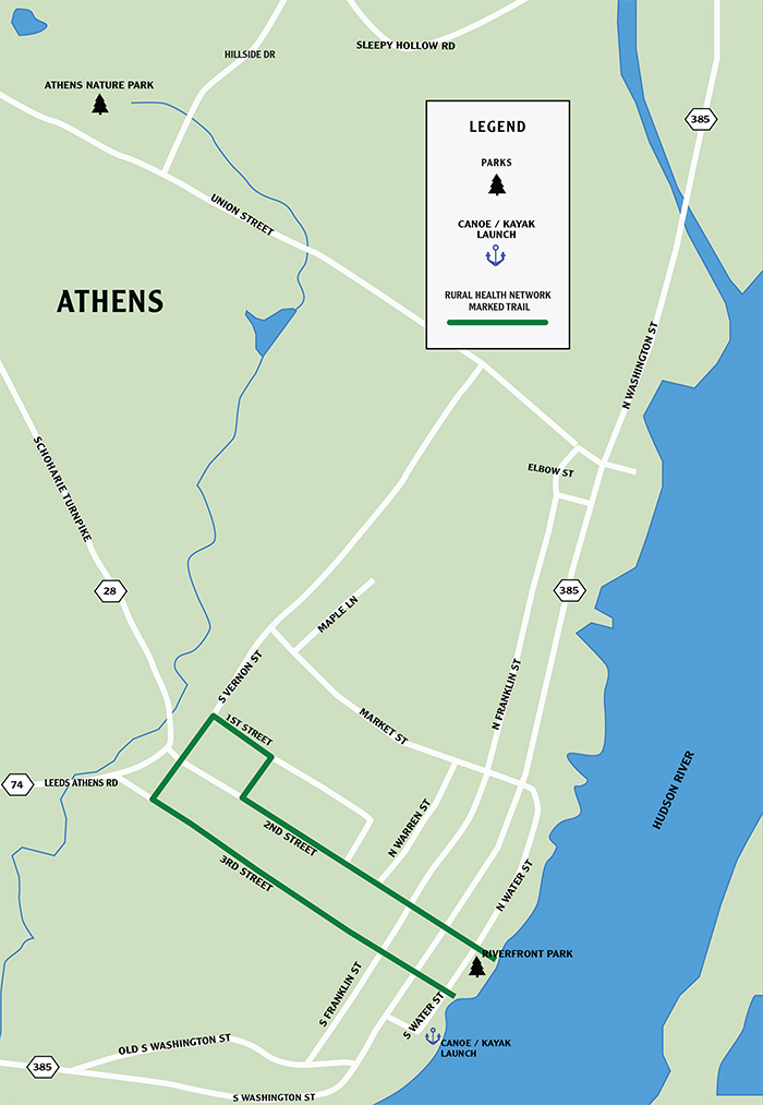 Athens Walking Trails