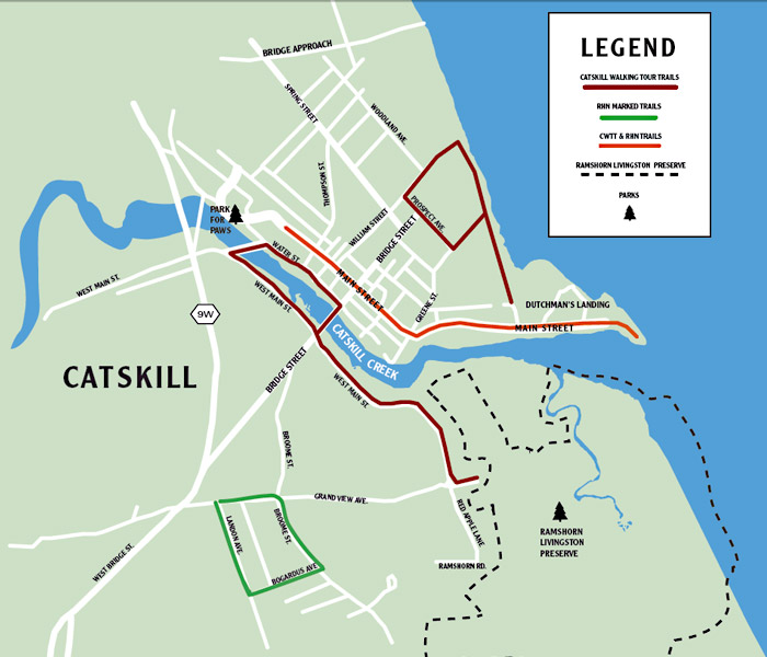 Catskill Walking Trails
