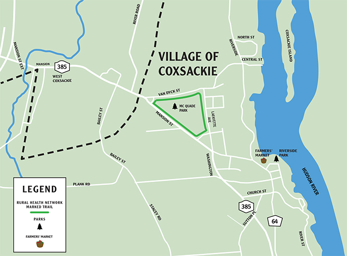 Village of Coxsackie Walking Trails