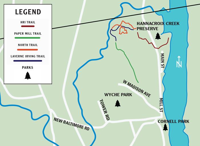 New Baltimore Walking Trails