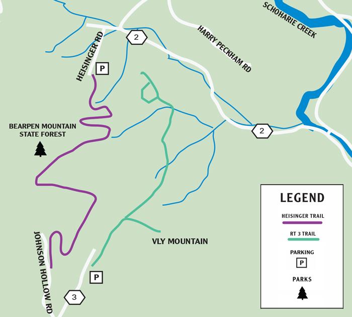Prattsville Walking Trails