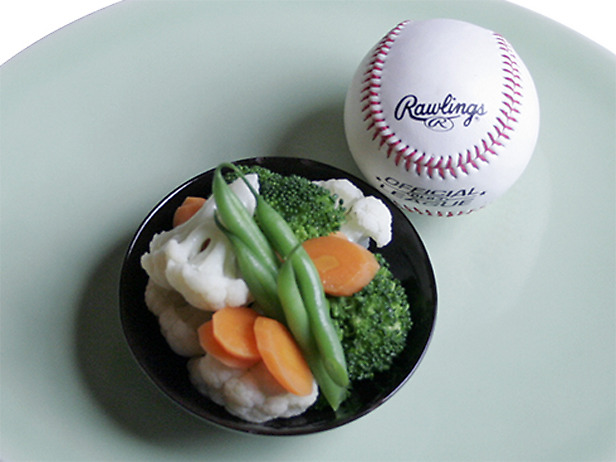 Portion Control Vegetables