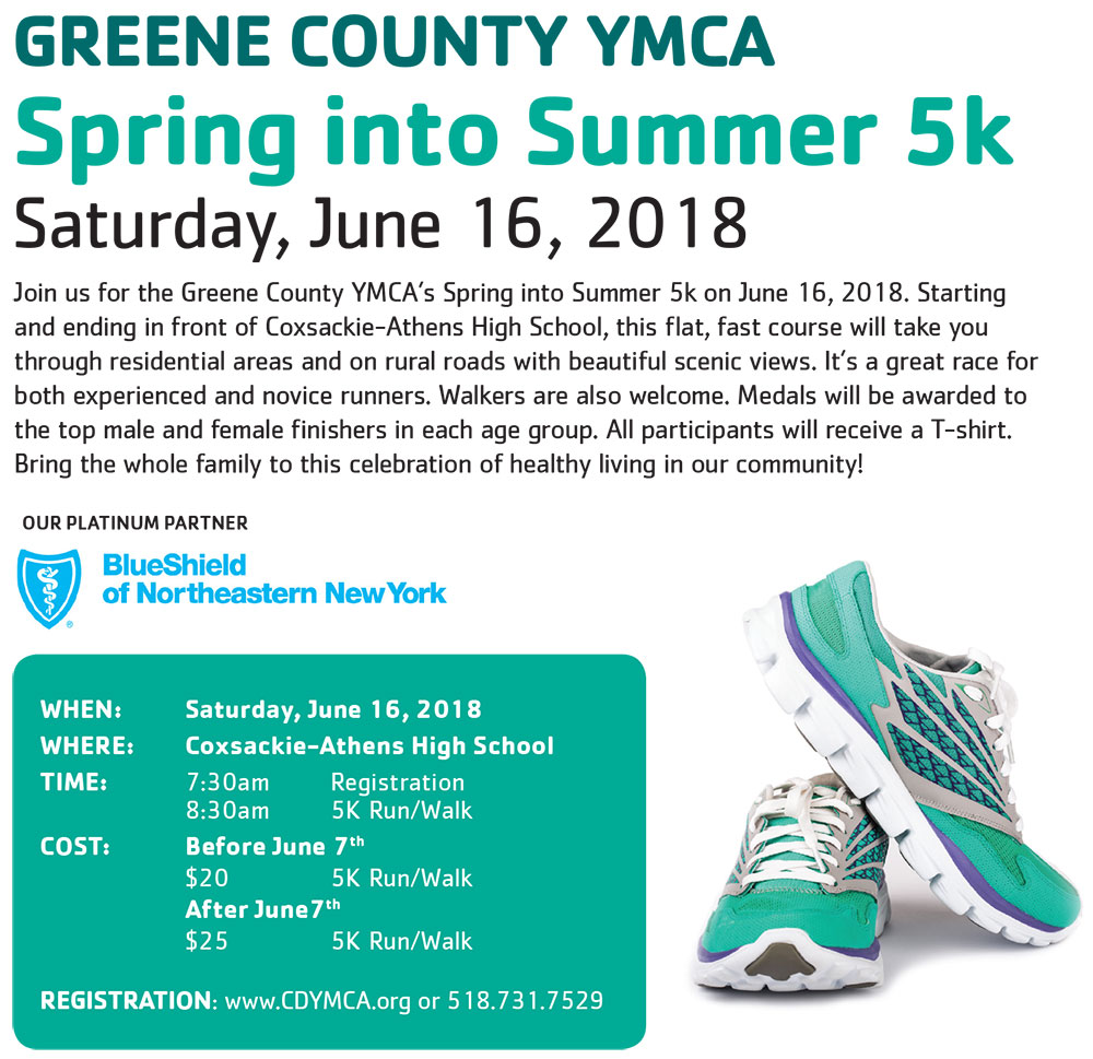 Spring into Summer 5k - Register Now!