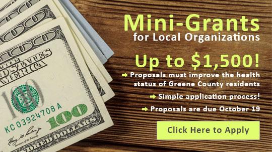 Mini-Grants for Local Organizations